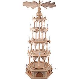 4-stöckige Pyramide unbestückt - 140 cm