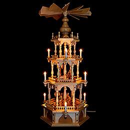 3-Tier Pyramid - Nativity - 110 cm / 43.3 inch