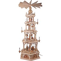 4-Tier Pyramid - Nativity - 140 cm / 55.1 inch