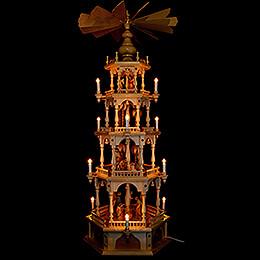 4-stöckige Pyramide Christi Geburt - 140 cm