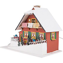 Lighted House Mountainside House - 29,5 cm / 11.6 inch