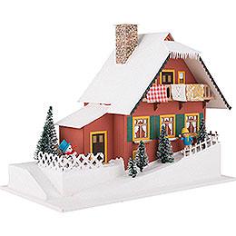 Lichterhaus Haus am Berg - 29,5 cm