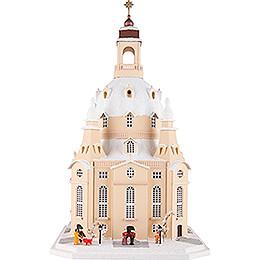 Lichterhaus Dresdner Frauenkirche, Sandstein - 51 cm