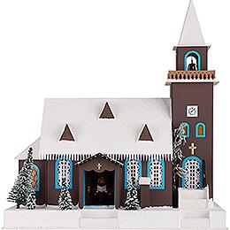 Lichterhaus Alte Kirche - 43 cm
