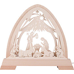 Pointed Arch - Stable - 40x37 cm / 15.7x14.6 inch