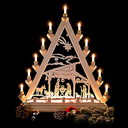 Light Triangle - Betlehem - 56 cm / 22 inch