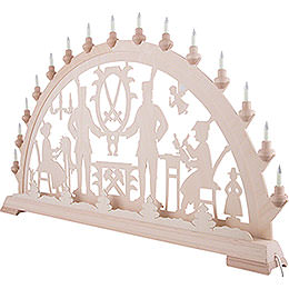 Candle Arch - Ore Mountains - 100x54 cm / 39.4x21.3 inch