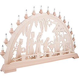 Candle Arch - Nativity  - 100x54 cm / 39.4x21.3 inch