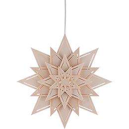 Fensterbild Stern mit Lichtschlitzen - Blume - 30 cm