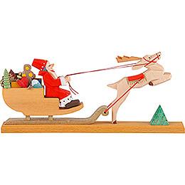 Weihnachtsschlitten - 6 cm
