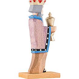 König mit blauem Kragen - 6,5 cm