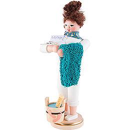 Räuchermännchen Fußpflegerin  - 23 cm