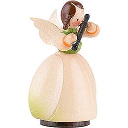 Schaarschmidt Angel with Flute - 4 cm / 1.6 inch