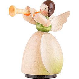 Schaarschmidt Engel mit Trompete - 4 cm