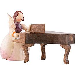 Schaarschmidt Engel mit Spinett, 2-teilig - 4 cm