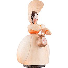 Schaarschmidt Hut-Dame mit Tasche - 4 cm