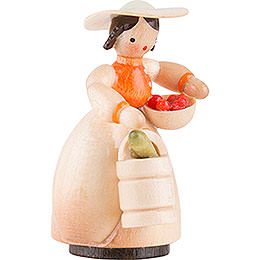 Schaarschmidt Gardener with Vegetables - 4 cm / 1.6 inch