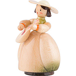 Schaarschmidt Hat Lady with Mandoline - 4 cm / 1.6 inch