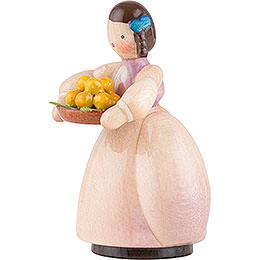Schaarschmidt Mädchen mit Apfelschale - 4 cm