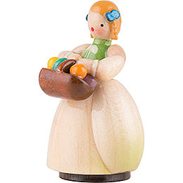 Schaarschmidt Girl with Egg Basket - 4 cm / 1.6 inch