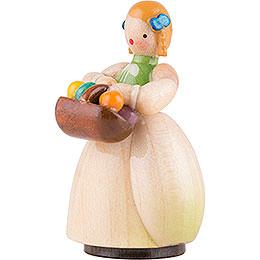 Schaarschmidt Mädchen mit Eierkorb - 4 cm