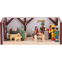 Miniature Room - Nativity - 4 cm / 1.6 inch