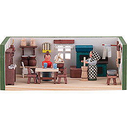 Miniature Room - Farmhouse Parlor - 4 cm / 1.6 inch
