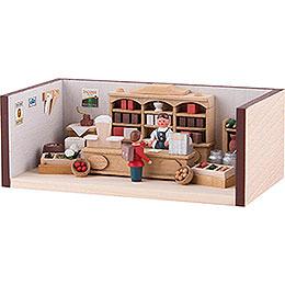 Miniaturstübchen Tante-Emma-Laden - 4 cm