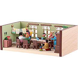 Miniaturstübchen Kindergarten - 4 cm