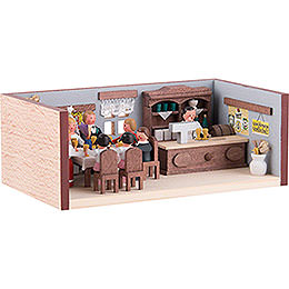 Miniature Room - Wedding Parlor - 4 cm / 1.6 inch
