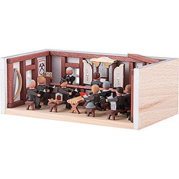 Miniature Room - Miners' Prayer Room - 4 cm / 1.6 inch