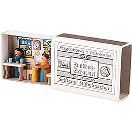 Zündholzschachtel Bauernstube - 3,8 cm