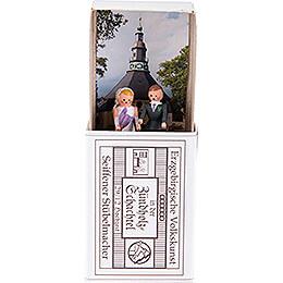 Zündholzschachtel Hochzeit - 3,8 cm