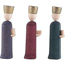 Three Wise Men - colored - 5 cm / 2 inch