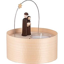 Holy Family - Tea Light Set - natural - 11 cm / 4.3 inch