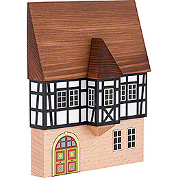Backdrop House - Town House with Bay - 16 cm / 6.3 inch
