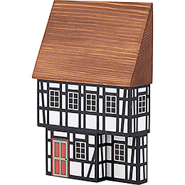 Backdrop House - Town House with Half-Timbered Ground Floor - 16 cm / 6.3 inch