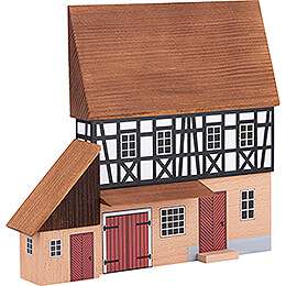 Backdrop House - Forge with Annex - 16 cm / 6.3 inch