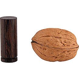 Pocket Christmas Tree - Wenge  - 4,5 cm / 1.8 inch