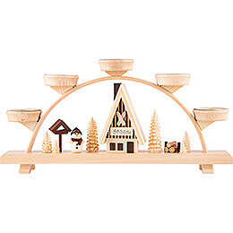 Candle Arch - Snowman - 33x16,5 cm / 13x6.5 inch