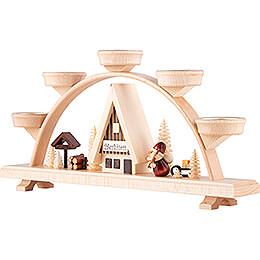 Candle Arch - Santa Claus - 33x16,5 cm / 13x6.5 inch