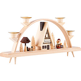 Candle Arch - Santa Claus - 33x15 cm / 13x5.9 inch