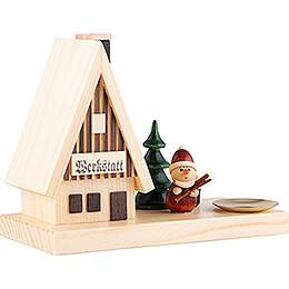 Rauchhaus Weihnachtsmann - 11,5 cm