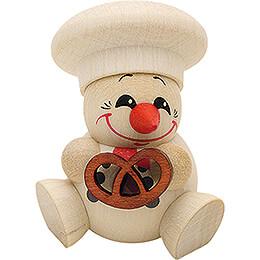 COOL MAN Baker with Pretzel - 5 pcs. - 6 cm / 2.4 inch