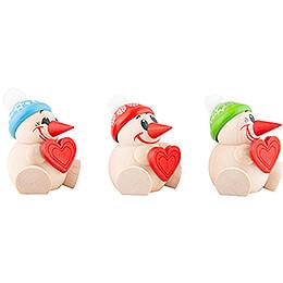 COOL MAN Heart - 3 pcs. - 6 cm / 2.4 inch