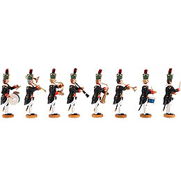 Historic Miners' Parade - Musicians - 8 pieces - 8 cm / 3.1 inch
