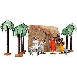 Entry into Jerusalem - 12 pieces - 20 cm / 7.9 inch