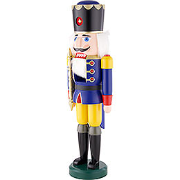 Nussknacker König blau - 60 cm