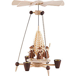 1-Tier Pyramid - Carolers - 26 cm / 10 inch