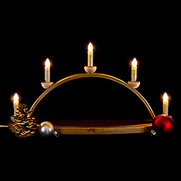 Candle Arch - without Figurines - 50x27 cm / 19.7x10.6 inch